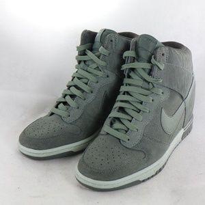 Nike Shoes - NIKE Women Dunk Sky Hi Print Hidden Wedge Sneakers